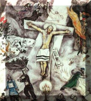 modernart20thcentury / Marc Chagall Crucifixion Marc Chagall